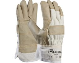 GEBOL Werkhandschoenen Basic wit maat 10,5